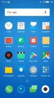 Homescreen (int. ROM) - Meizu m3 note review