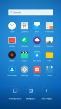 Organizing the homescreen - Meizu MX6 review