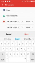 Calendar - Meizu MX6 review