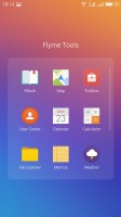 A folder with apps - Meizu Pro 6 review