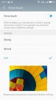 3D Press options - Meizu Pro 6 review