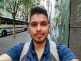 Selfie: in regular lighting - Moto Z Droid Edition Review