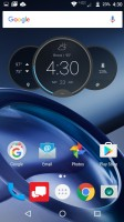 Home screen 1 - Moto Z Droid Edition Review