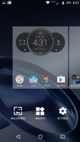 Launcher menu - Moto Z Droid Edition Review