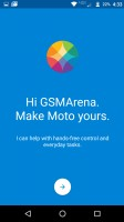 Moto app intro screens - Moto Z Droid Edition Review