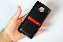 JBL Soundboost: front - Moto Z Droid Edition review