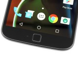 The fingerprint scanner - Motorola Moto G4 Plus hands-on