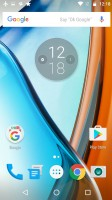 Google Now launcher - Motorola Moto G4 Plus review