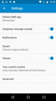 Google Messenger - Motorola Moto G4 Plus review