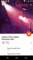 Google Play Music is built around music streaming - Motorola Moto G4 Plus review