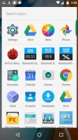 The app drawer - Moto G4 review