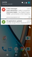 Notification area - Moto G4 review