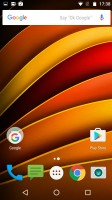 The homescreen - Motorola Moto X Force review