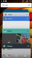 The app switcher rolodex - Motorola Moto X Force review