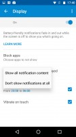 Moto Display notifications - Motorola Moto X Force review