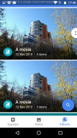 Google Photos - Motorola Moto X Force review