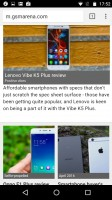 Chrome - Motorola Moto X Force review