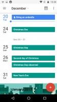 Google Calendar - Motorola Moto Z Play review
