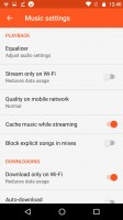 You can cache streamed music - Motorola Moto Z Play review
