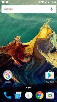 The homescreen - Oneplus 3 review