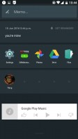 Shelf and custom widgets - Oneplus 3 review