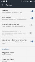 Lots of customization options for the various inputs - Oneplus 3t review