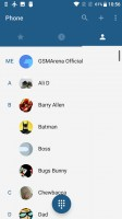 The Phone app and its dialer - Oneplus 3t review