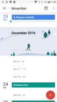 Calendar - Oneplus 3t review