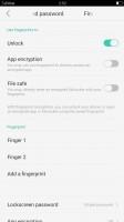 Fingerprint reader - Oppo F1 Plus review