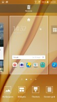 Homescreen settings - Samsung Galaxy A9 (2016) review