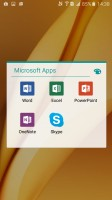 Microsoft app package - Samsung Galaxy A9 (2016) review