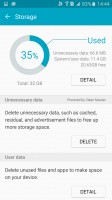 Cleaning up the storage - Samsung Galaxy A9 (2016) review