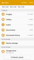 My Files - Samsung Galaxy A9 (2016) review