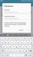 Keyboard - Samsung Galaxy C5 review