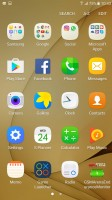 App drawer - Samsung Galaxy C7 review