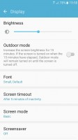 SuperAMOLED screen settings - Samsung Galaxy J2 2016 preview
