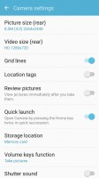 Camera UI and camera settings - Samsung Galaxy J2 2016 preview