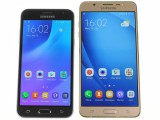 Samsung Galaxy J3 (2016) next to Galaxy J7 (2016) - Samsung Galaxy J3 (2016) review
