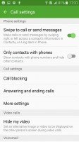 Blocking spam calls - Samsung Galaxy J3 (2016) review