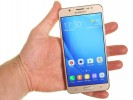 The Galaxy J7 (2016) in the hand - Samsung Galaxy J7 2016 review