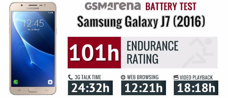 Samsung Galaxy J7 2016 Review Display Battery Life