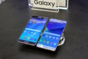 Samsung Galaxy Note5 (left) and Galaxy Note7 (right) - Samsung Galaxy Note7 hands-on
