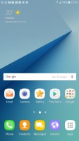 Homescreen - Samsung Galaxy Note7 review