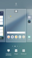 Homescreen settings - Samsung Galaxy Note7 review