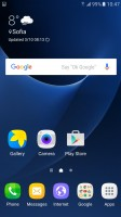 Homescreen - Samsung Galaxy S7 review