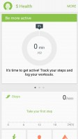 S health is Samsung's fitness app - Samsung Galaxy S7 review