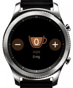 Track water and coffee intake - Samsung Gear S3 review