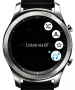 The Music player also acts like a remote - Samsung Gear S3 review