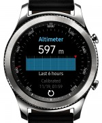 Altimeter/Barometer - Samsung Gear S3 review