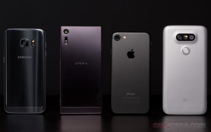 iPhone 7 vs Galaxy S7 vs Xperia XZ vs LG G5: Conclusion
